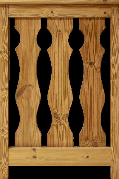 Balconata - Engaz - Arte del Legno