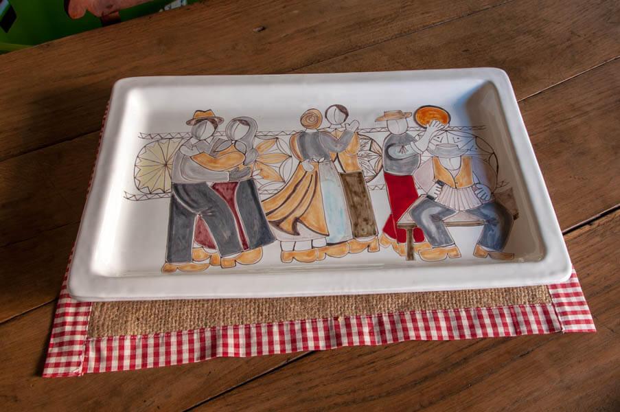 Ceramiche - Engaz - Arte del legno