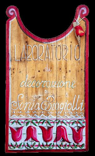 Decoratrice Sonia Biagiotti - Engaz - Arte del legno